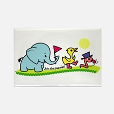 Join the Parade Rectangle Magnet