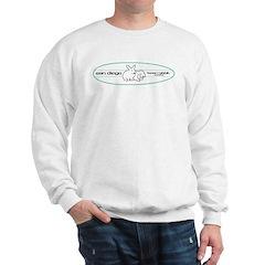 Green Surfboard Bunnies Sweatshirt