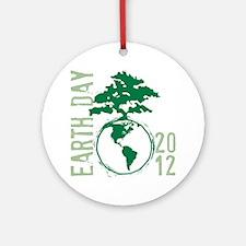 Earth Day2012 Round Ornament