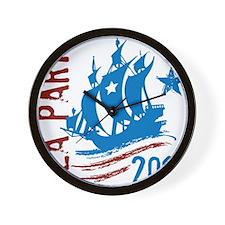 Tea Party2012 Wall Clock