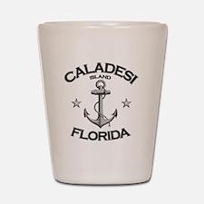 CALADESI ISLAND FLORIDA copy Shot Glass