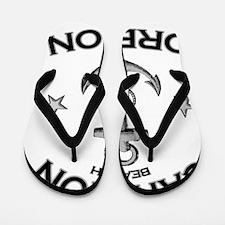 CANNON BEACH OREGON copy Flip Flops
