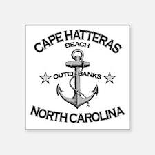 """CAPE HATTERAS NORTH CAROLIN Square Sticker 3"""" x 3"""""""