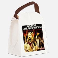 Sir Des larger Canvas Lunch Bag