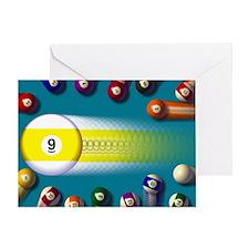 poolballs1 Greeting Card