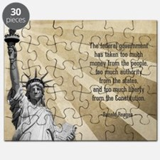 Ronald Reagan Quote Puzzle