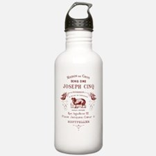 French Ad Water Bottle