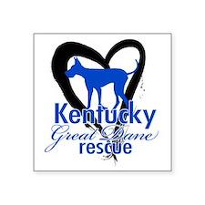 "KGD Logo Square Sticker 3"" x 3"""