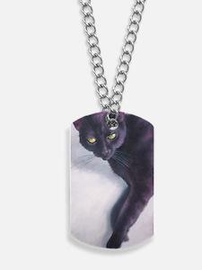 Black Cat Dog Tags