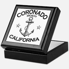 CORONADO BEACH CALIFORNIA copy Keepsake Box