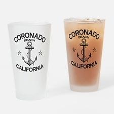 CORONADO BEACH CALIFORNIA copy Drinking Glass