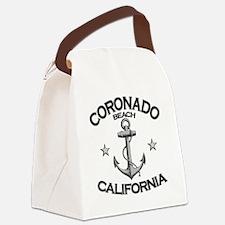 CORONADO BEACH CALIFORNIA copy Canvas Lunch Bag
