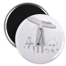 funny ufo vs mallet percussion musical inst Magnet