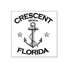 "CRESCENT BEACH FLORIDA copy Square Sticker 3"" x 3"""