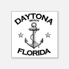 "DAYTONA BEACH FLORIDA copy Square Sticker 3"" x 3"""