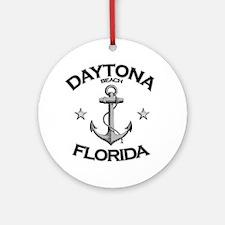 DAYTONA BEACH FLORIDA copy Round Ornament