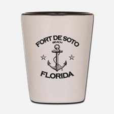 FORT DE SOTO FLORIDA copy Shot Glass