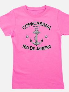 Copacabana beach rio de janeiro brazil  Girl's Tee