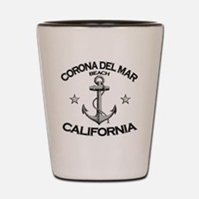 CORONA DEL MAR BEACH CALIFORNIA copy Shot Glass