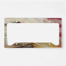 american bald eagle license plate holder