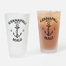 KAANAPALI BEACH MAUI copy Drinking Glass