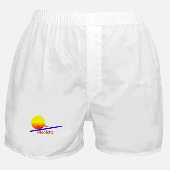Nicolette Boxer Shorts