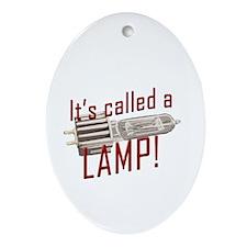 Lamp Oval Ornament