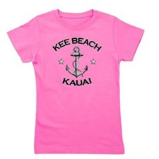 Kee Beach Kauai copy Girl's Tee