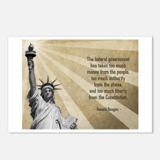 Ronald Reagan Quote Postcards (Package of 8)