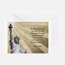 Ronald Reagan Quote Greeting Cards