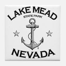 LAKE MEAD STATE PARK NEVADA copy Tile Coaster