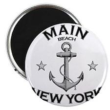 MAIN BEACH NEW YORK copy Magnet