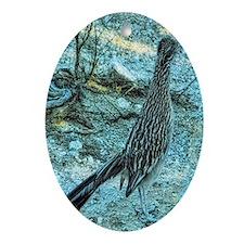 roadrunner Oval Ornament
