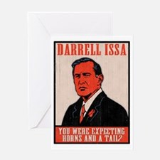 issa-don-T Greeting Card