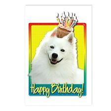 BirthdayCupcakeAmericanEs Postcards (Package of 8)