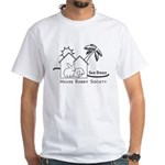 Black & White White T-Shirt