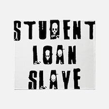 loanslave Throw Blanket