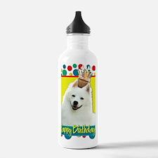 BirthdayCupcakeAmerica Water Bottle