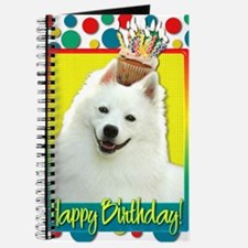 BirthdayCupcakeAmericanEskimo Journal