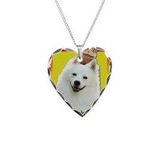 BirthdayCupcakeAmericanEskimo Necklace Heart Charm