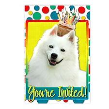 InviteCupcakeAmericanEski Postcards (Package of 8)