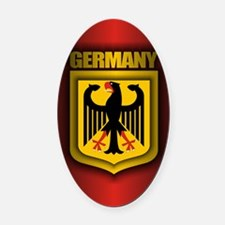 German stl (CiPD2) Oval Car Magnet