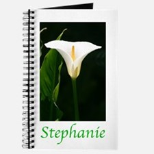 Funny White calla lily Journal