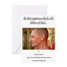 Be that emptiness Greeting Card
