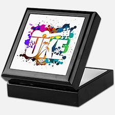 UKE Color Splash Keepsake Box