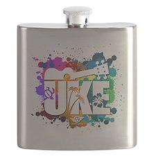 UKE Color Splash Flask