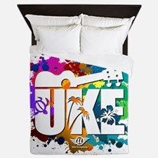 UKE Color Splash Queen Duvet
