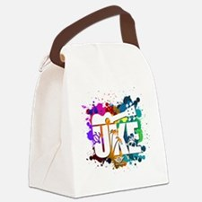UKE Color Splash Canvas Lunch Bag