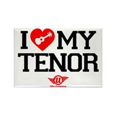 I Love My Tenor Rectangle Magnet