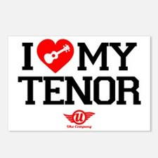 I Love My Tenor Postcards (Package of 8)
